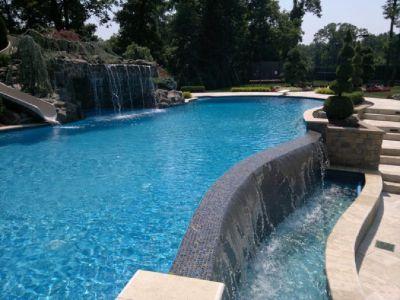vanishing edge pools building service
