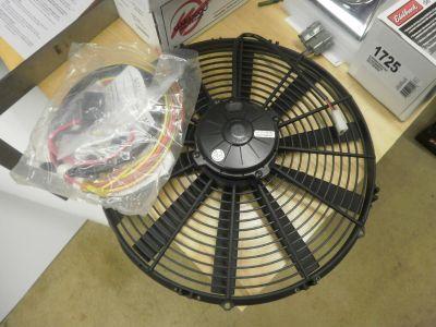 Spal puller fan