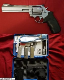For Sale/Trade: Taurus Raging Bull (44 mag) and Sig p238