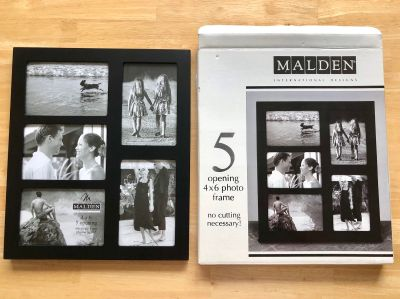4x6 picture frame (holds 5)