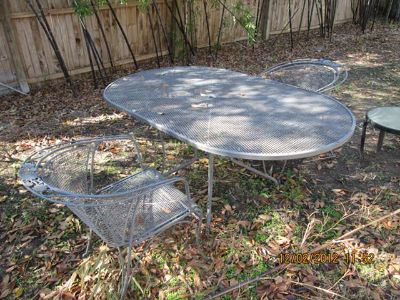 $400, Wrough Iron Patio Set
