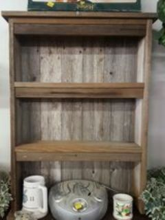 solid wood spice shelves