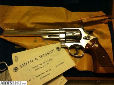 For Sale/Trade: Vintage s&w 57 .41 ten mag
