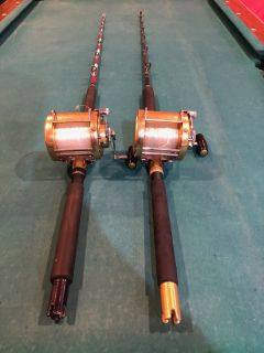 2 custom Bert Sweetland 5 6 rods