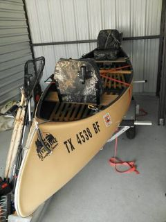 River Ridge Custom Canoe, Malone Trailer, Many Extras