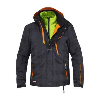 Purchase Ski-Doo Men's Mcode Jacket with Insulation-Black motorcycle in Sauk Centre, Minnesota, United States, for US $239.99