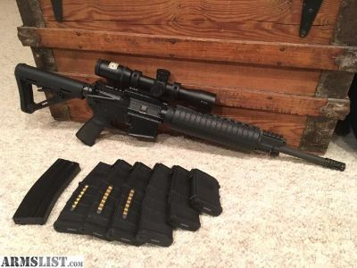 For Sale: CMMG Mod 4 5.56 NATO AR15