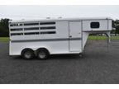 Used 2013 Bee 3HGN 3 Horse Trailer with 2 Short Wall