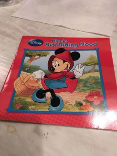 Disney - Minnie Red Riding Hood paperback
