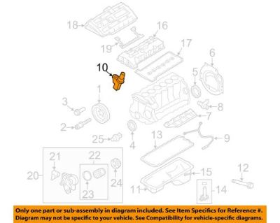Sell BMW OEM 08-15 X6-Engine Camshaft Position Sensor 13627525014 motorcycle in Shrewsbury, Massachusetts, United States, for US $102.71