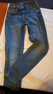 Justice Jean's size 10S Simplylow tapered girls jeans pants