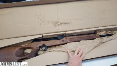 For Sale: Super Vepr 308 never been fired in box but stock is damaged