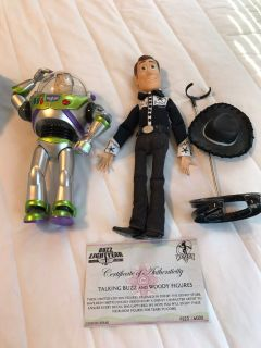 Limited Edition Talking Buzz and Woody