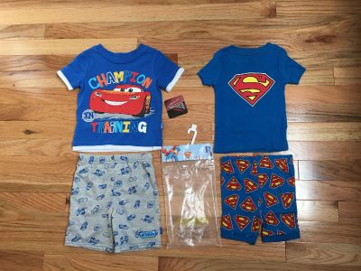 Disney s Cars & Superman Summer PJs. Size 12-18/18 Months. Both Brand New with Tags.