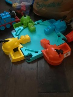 Hungry hippos game