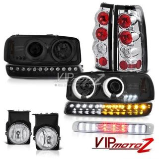 Sell 03-06 Sierra 4.3L Chrome third brake light fog lamps tail bumper CCFL Headlamps motorcycle in Walnut, California, United States, for US $371.40