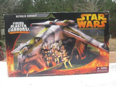 Star wars Replica Gunship