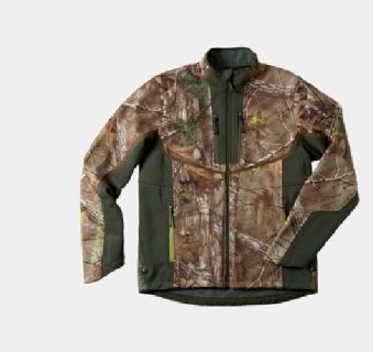 $185 Men's Under Armour ColdGear Infrared Ridge Reaper Softshell Jacket