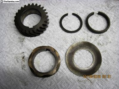 crankshaft gear set