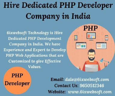 Hire Dedicated PHP Developer Company in India