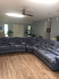 Reclining sectional or sofa & loveseat