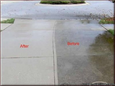 Pressure washing, decks, patios, driveways, sidewalks. Fully Insured