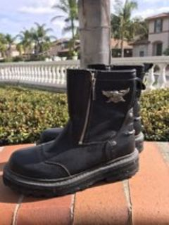 women s only worn once Harley Davidson Motorcycle boots