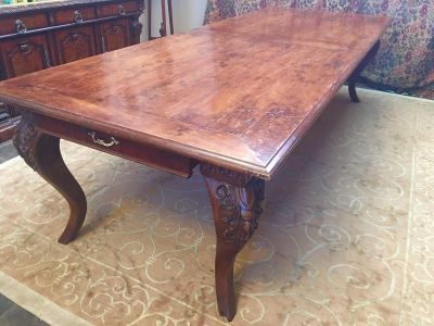 Antique Walnut Dining Table 10 Foot