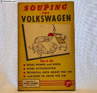 1959 1st Edition of Souping The Volkswagen