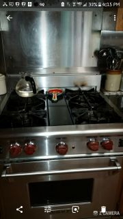 WOLF CONVECTION/STOVE/ OVEN