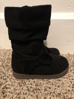 Toddler Size 7 Black Boots