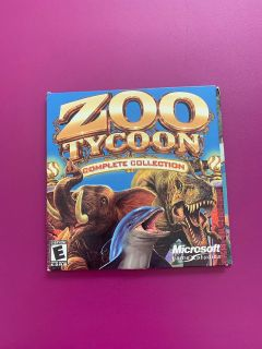 Zoo Tycoon: Complete Collection PC Computer Game + Product Key Marine Mania Dinosaur Digs Genuine Microsoft Product | Tested