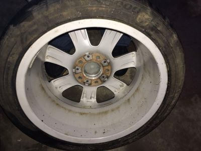 BMW 17in Rims and tires(2) 5lug 4.75 bolt