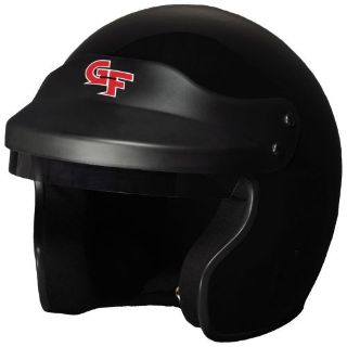 Purchase G-FORCE 3121SMLBK GF1 Race Helmet Open Face Small Black SA2015 motorcycle in Suitland, Maryland, United States, for US $179.99