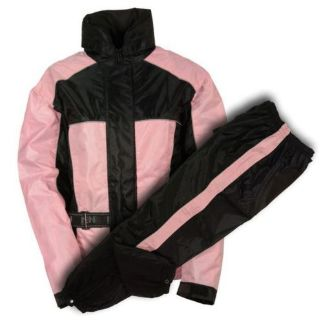 Find Milwaukee Leather Ladies Rain Suit Water Proof w/ Reflective Piping Pink motorcycle in Holland, Michigan, United States, for US $64.99