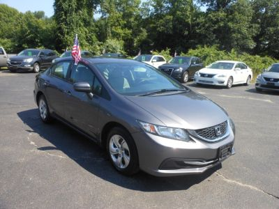 2015 Honda CIVIC SEDAN 4dr CVT LX (Modern Steel Metallic)