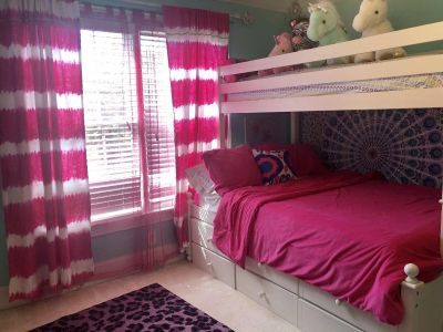 Curtains, shear curtains and comforter set