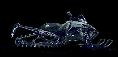 """2016 Arctic Cat M 8000 162"""" Limited Snowmobile Mountain Snowmobiles Bismarck, ND"""