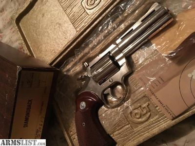 For Sale: Colt Diamondback