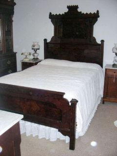 Antique Eastlake Bedroom Set