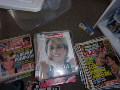 Princess Diana Books and Magazine Collection For Sale