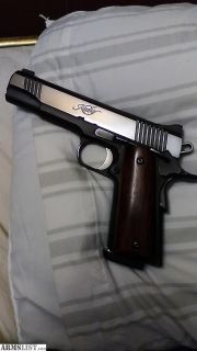 For Sale/Trade: Kimber custom 2 mild custom work sell or trade for ar15 type pistol or rifle will consider all trades Wug