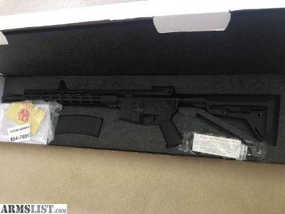 For Sale: Ruger AR-15 MPR 5.56mm