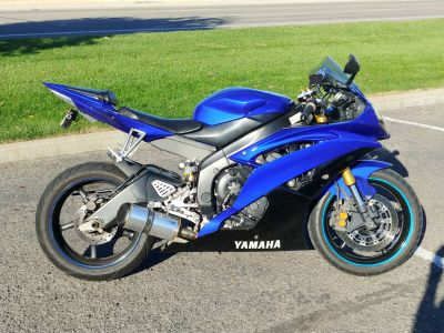 2008 Yamaha YZF-R6 SuperSport Motorcycles Meridian, ID