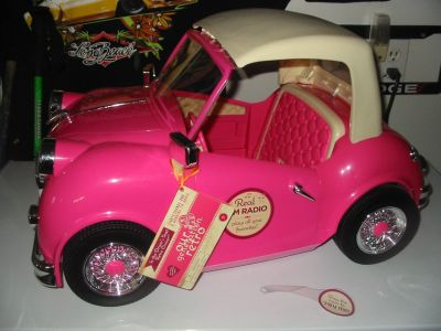 American Girl doll roadster $55