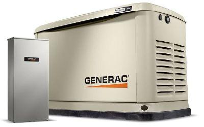2019 Generac Guardian 9kW Home Backup Generator with 16-circuit Transfer Switch WiFi-Enabled Generators Jacksonville, FL