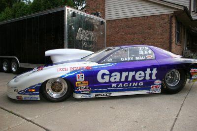2000 Pontiac Firebird Pro Stock - Former Jim Yates car.
