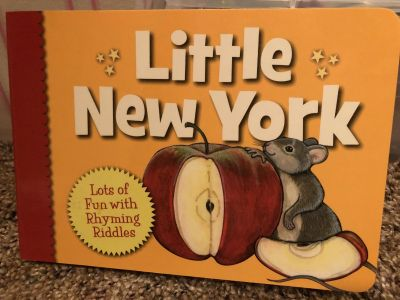 Little New York Book. Adorable Cardboard Pages. Nice Condition. Retails for $9.95