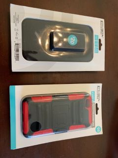 New iPhone 6 6s 7 protective phone cases (NIB)
