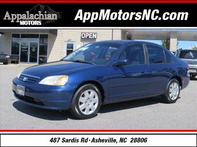 2001 Honda Civic EX (Blue)